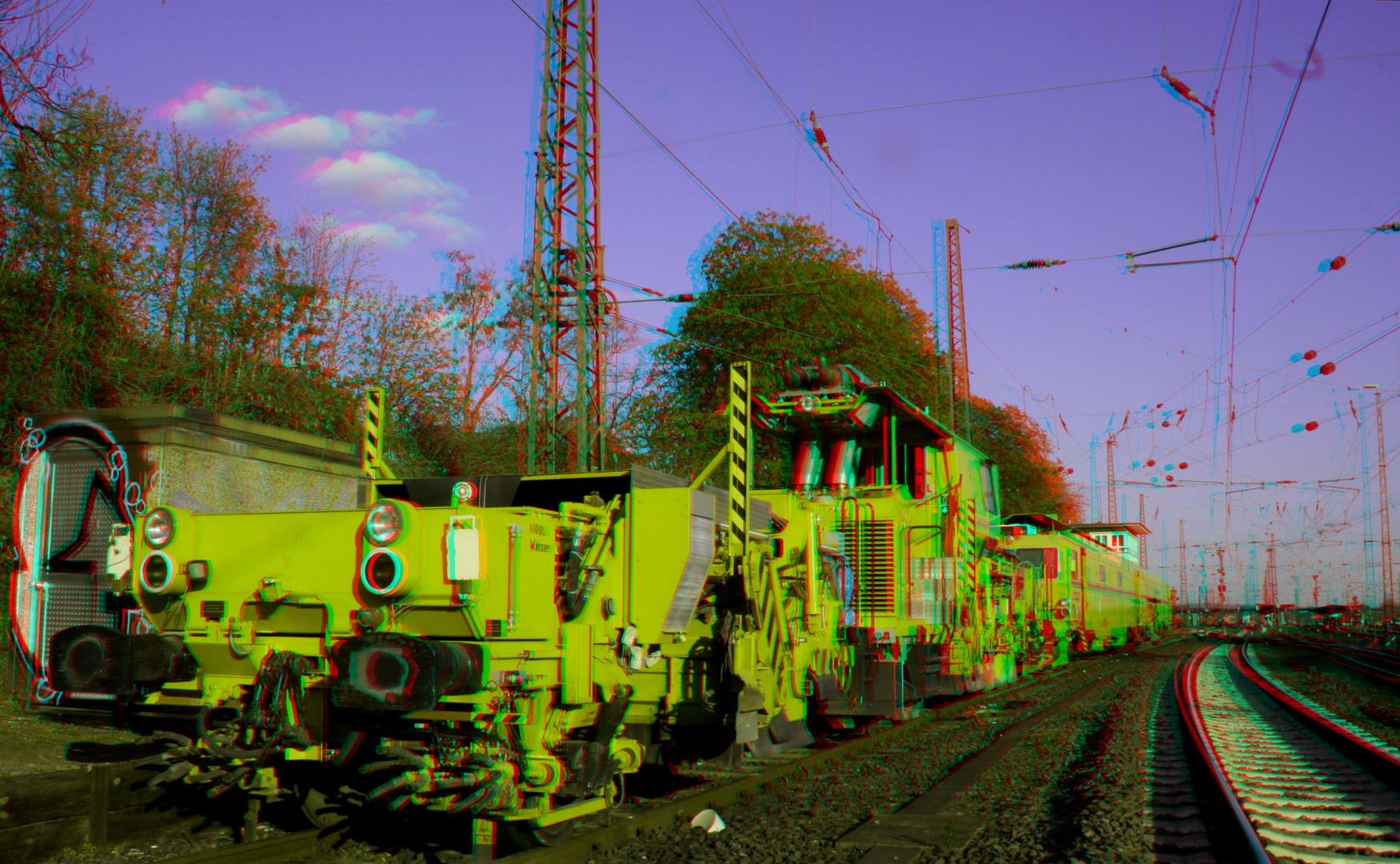 Werkstattzug (Gleisstopfmaschine)