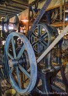 Werkzeug am Riemenantrieb einer Dapfmaschine