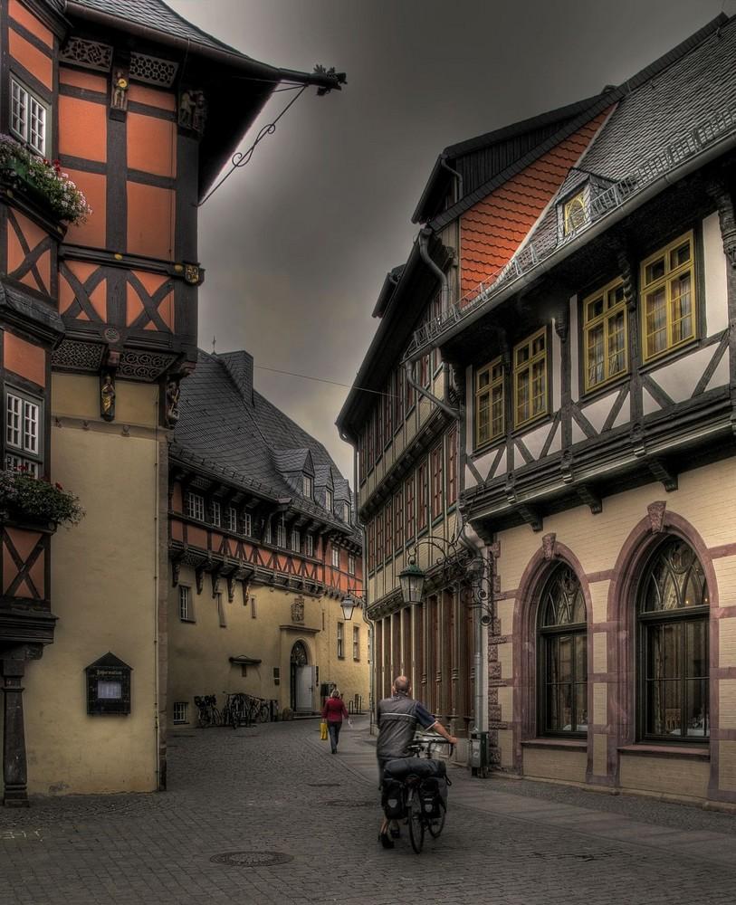 """Wernigerode-Stadt-Mitte """" das Rathaus mal anders gesehen... """""""