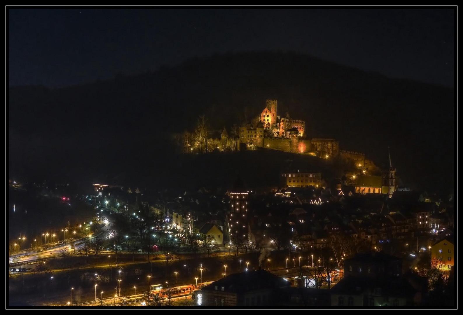 Wertheim bei Nacht