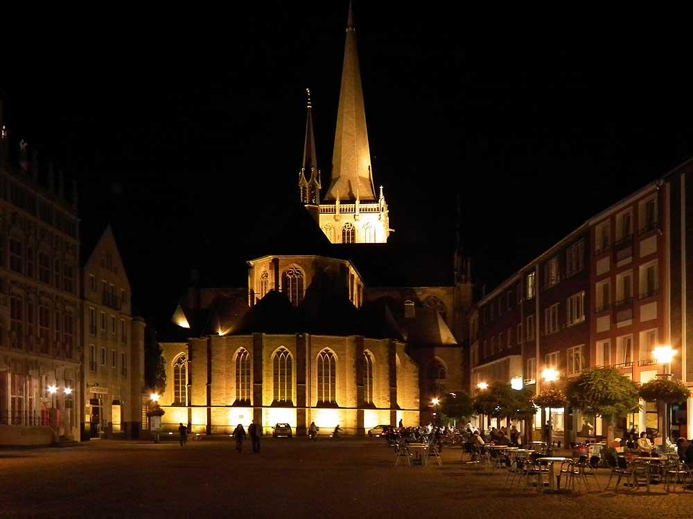 Wesel, die alte Hansestadt am Zusammenfluss von Rhein und Lippe