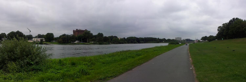 Weser bei Bremen