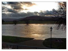Weser Hochwasser