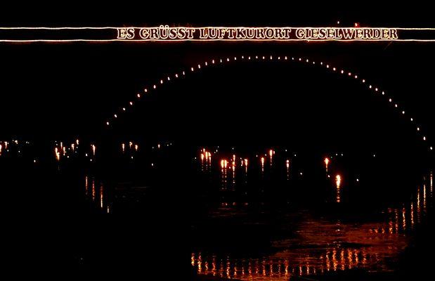 Weser in Flammen