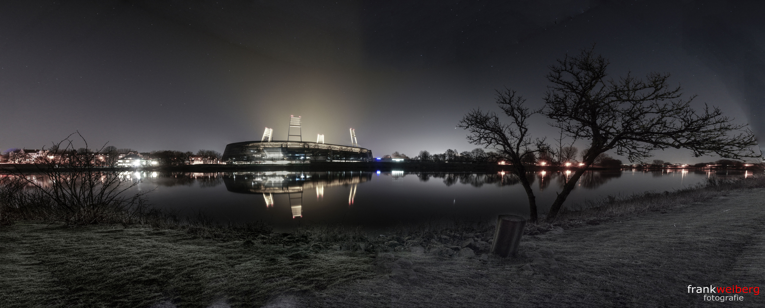 Bremen Fotografie weserstadion bremen foto bild architektur architektur bei nacht