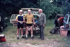 Wessex 24 hours cycling time trial 1977