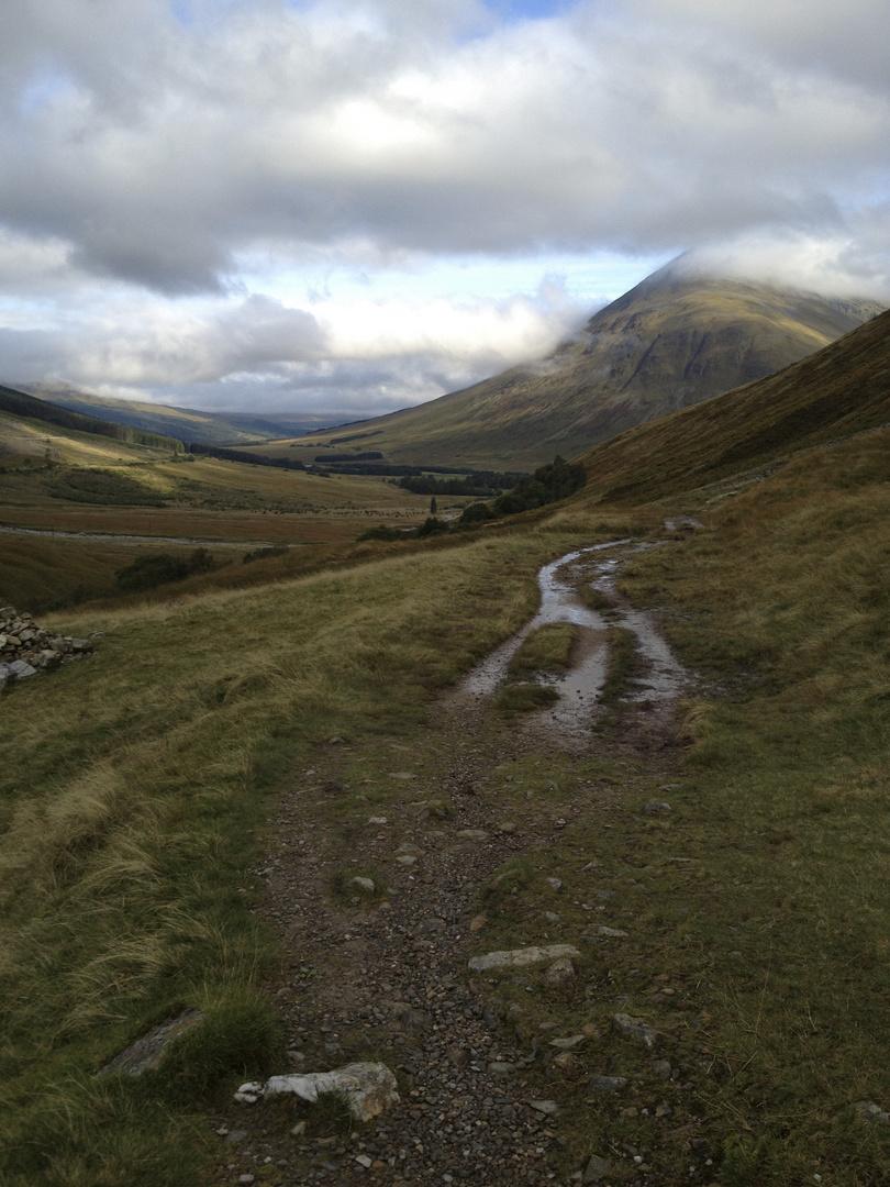 West Highland Way - Wanderung von Tyndrum nach Inveroran