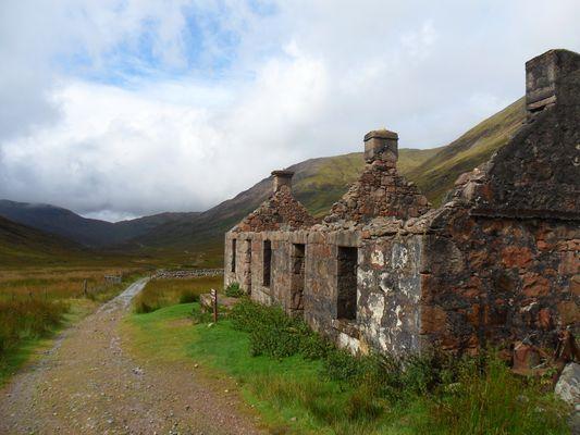 ~   West Highland Way zwischen Kinlochleven und Fort William   ~