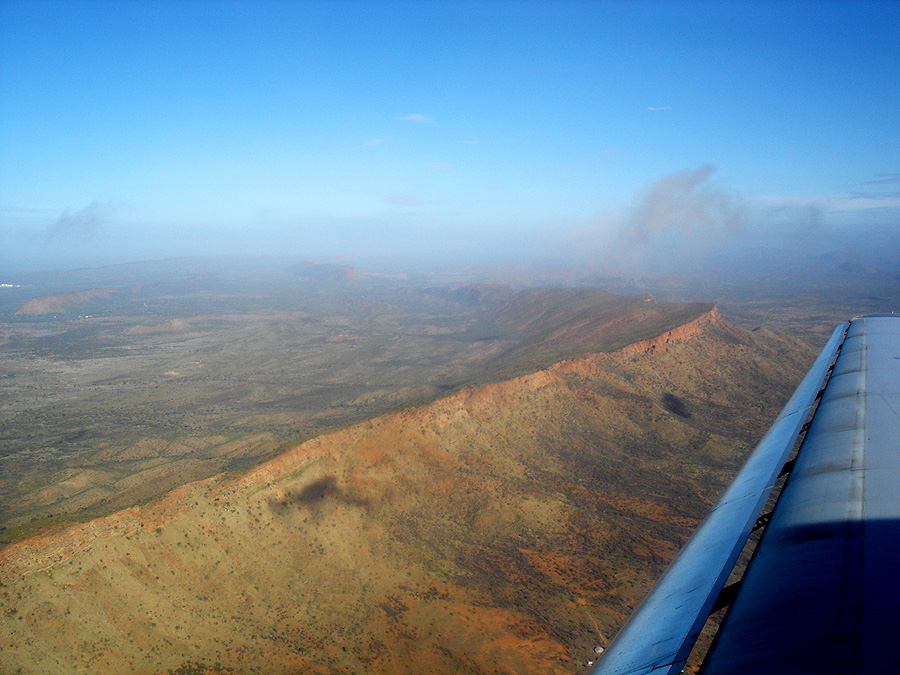 West MacDonnell Ranges, Aerial