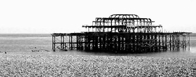 West Pier.... aber diesmal nicht schief