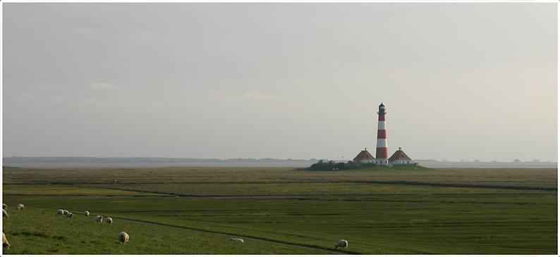 Westerhever, Leuchtturm (1)
