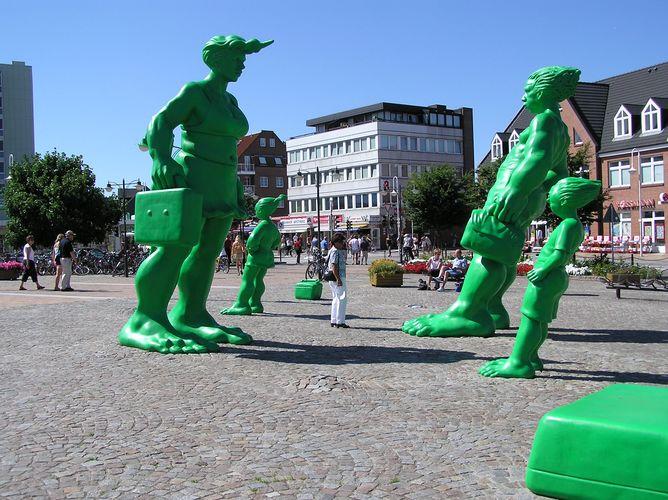 .....Westerland Bahnhofvorplatz..... * Sylt 5 *
