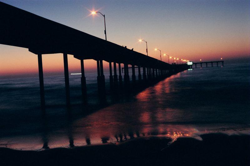 western pier