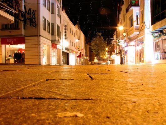 Westernstraße um 3 Uhr morgens