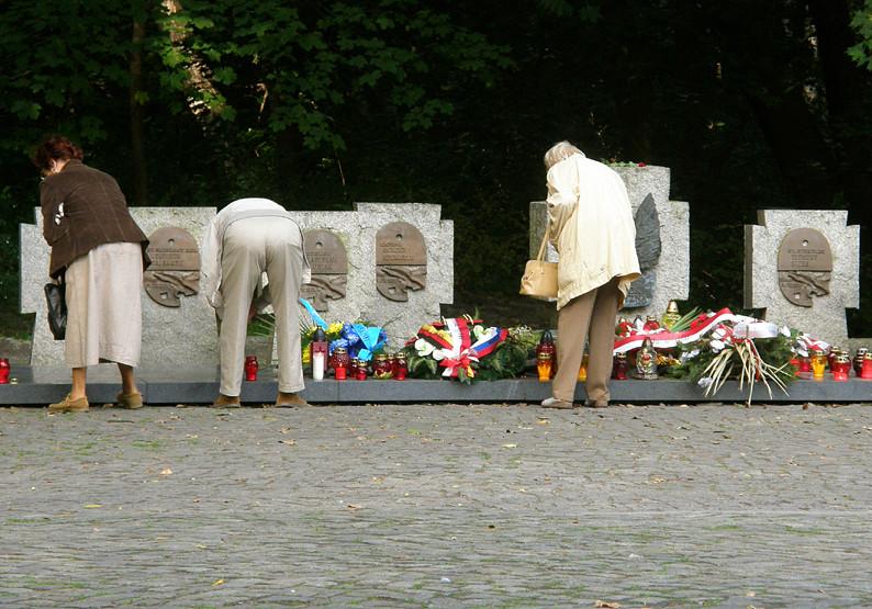Westerplatte - Soldatengräber