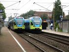 Westfalenbahnen treffen sich in Ibbenbühren
