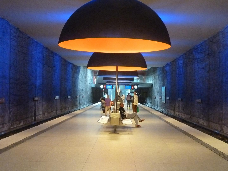 Westfriedhof, unterirdisch-