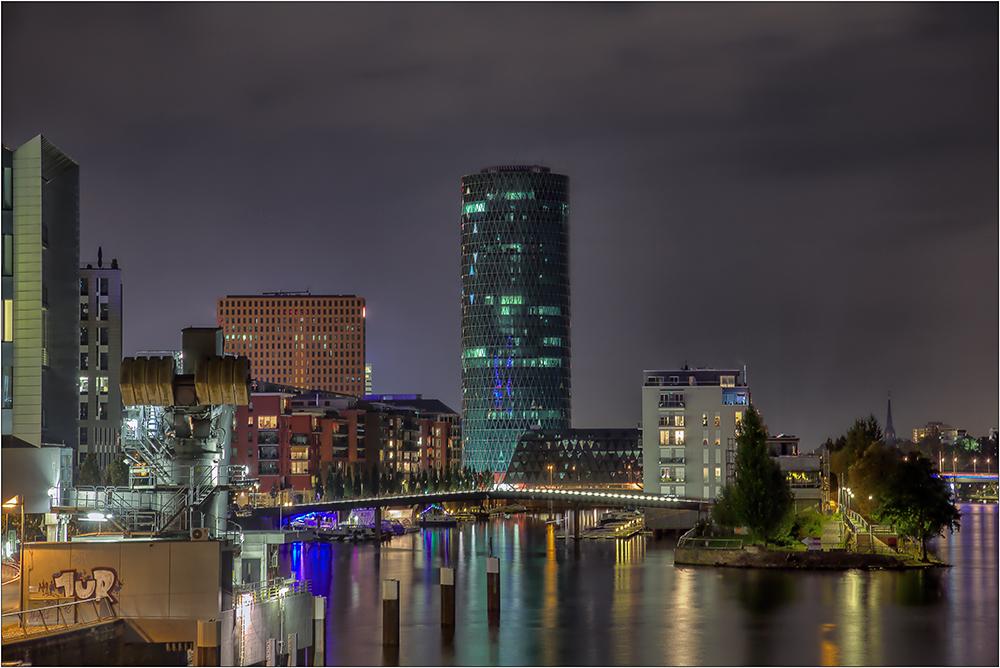 Westhafen-Blick