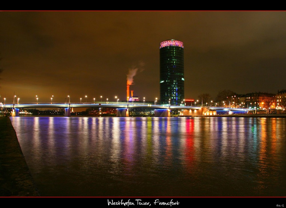 Westhafen Tower - Francfort sur le Main