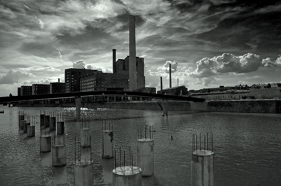 Westhafenbaustelle