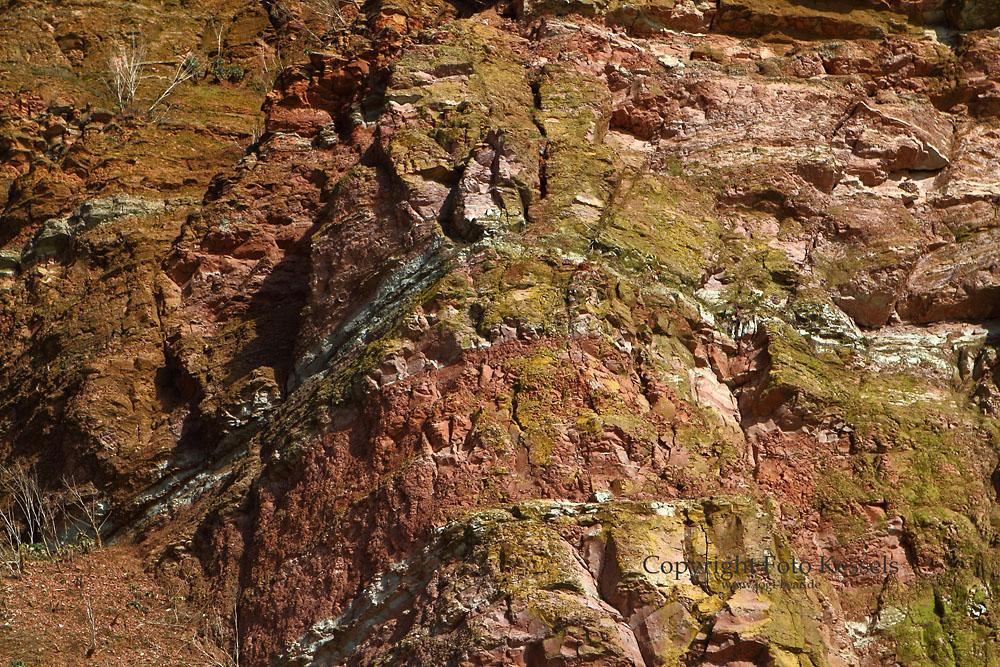 Westklippen - Strukturen und Farben