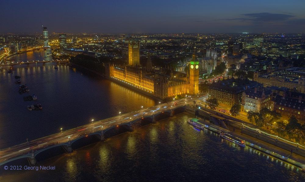 Westminster Blaue Stunde