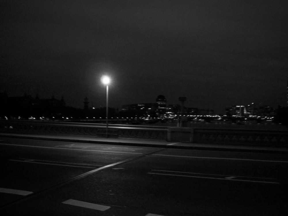 Westminster Bridge lantern