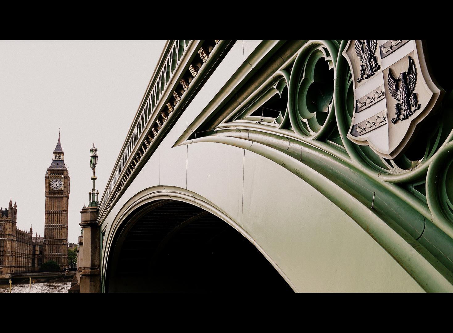 Westminster Bridge und Elizabeth Tower