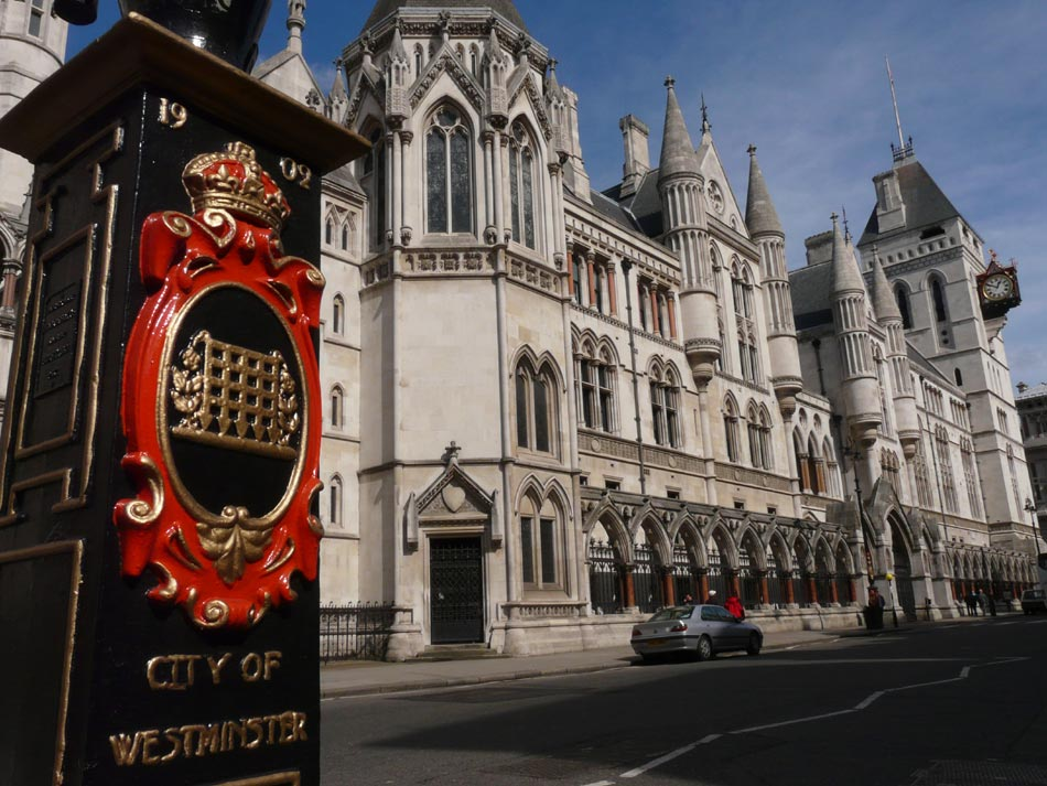 Westminster - Royal Court of Justice