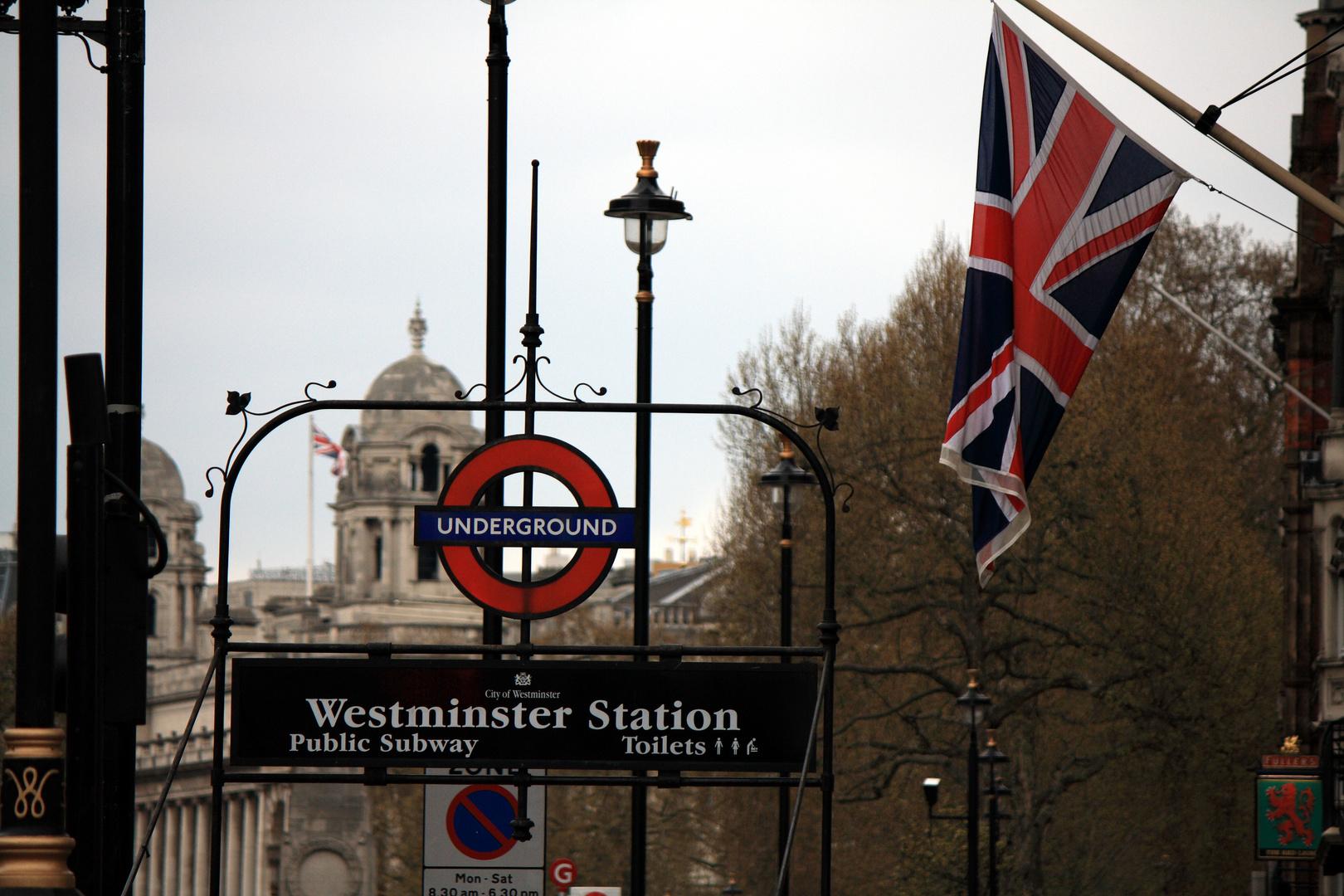 """Westminster Station"" Ostern 2012"