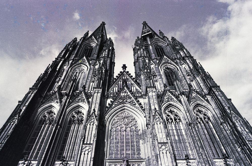 Westseite Kölner Dom (1986)