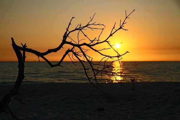 Weststrand Sunset