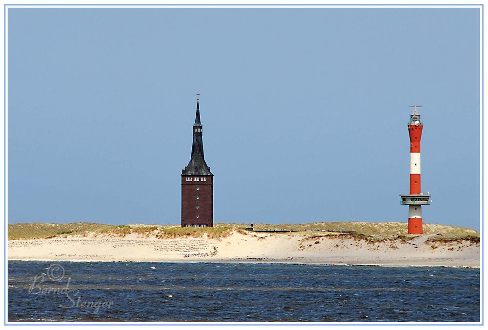 Westturm & neuer Leuchtturm