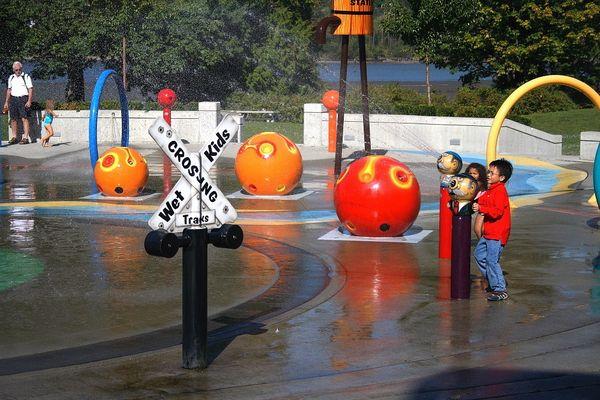 Wet Kids Crossing