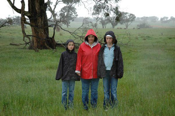 Wet! Outside Canberra, Australia