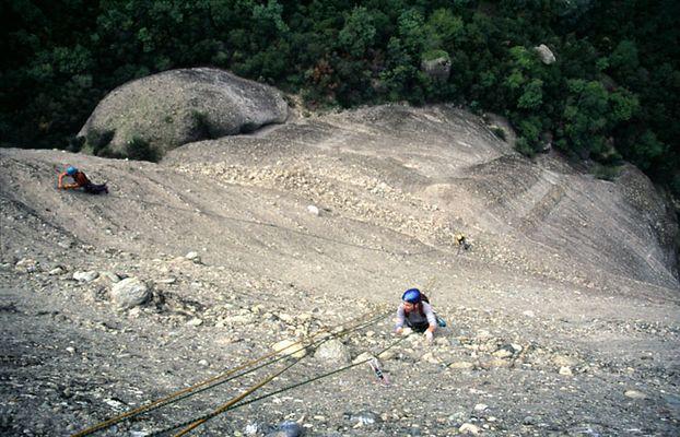 Wettbewerb am Sourloti - Meteora
