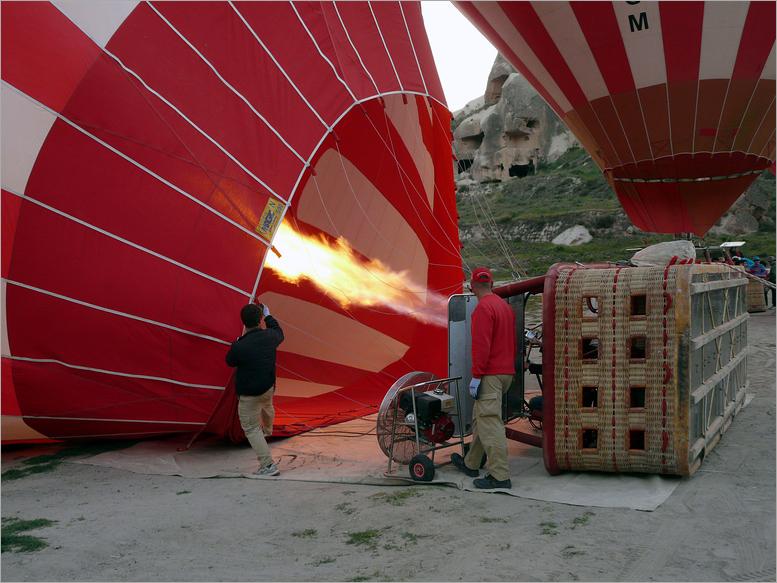 Wetter zum Ballonfahren  ....