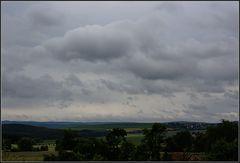 Wetterbericht - Himmighofen 14 ° am 9.6.2009 8.12 Uhr Blick in Richtung Taunus