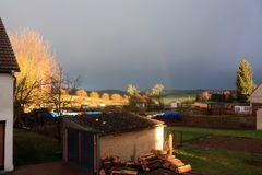 Wetterbericht Himmighofen 21.2.13 18.25 Uhr ca. 6°   (gestern Abend)
