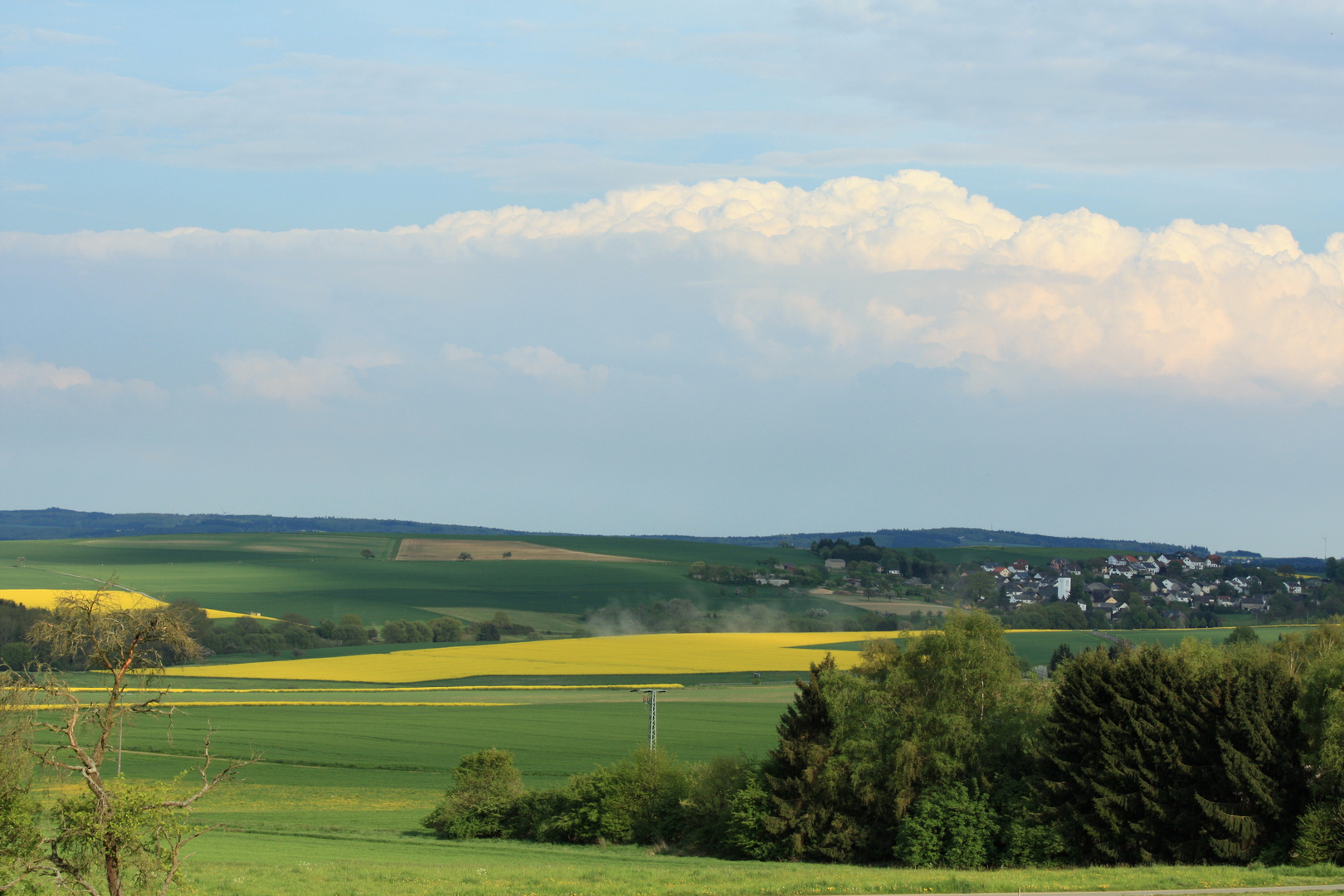 Wetterbericht Himmighofen 23.04.14 Nachmittag