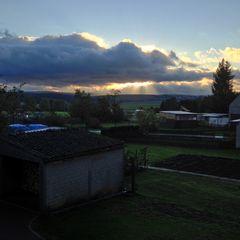 Wetterbericht Himmighofen 9° Sonne und Wolken