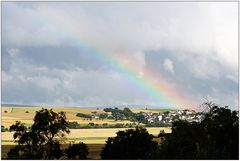 Wetterbericht - Himmighofen am 14.7.2009 18.13 Uhr 23° Regen