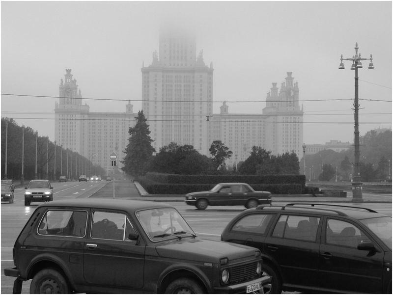 Wetterbericht - Uni Moskau bewölkt !
