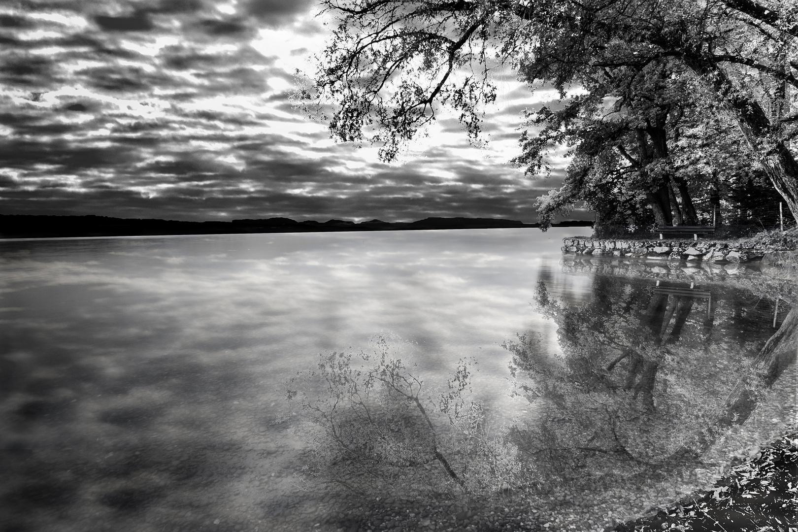 Wetterdrohung am Starnberger See