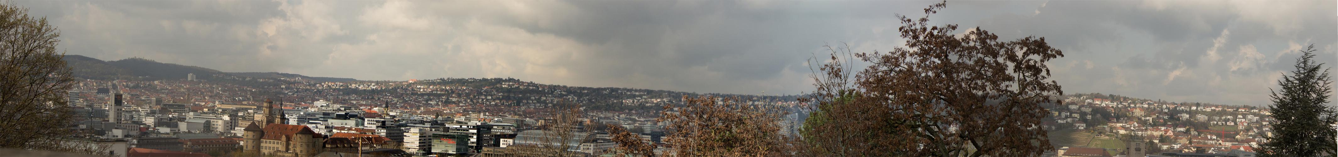 Wetterlage in Stuttgart