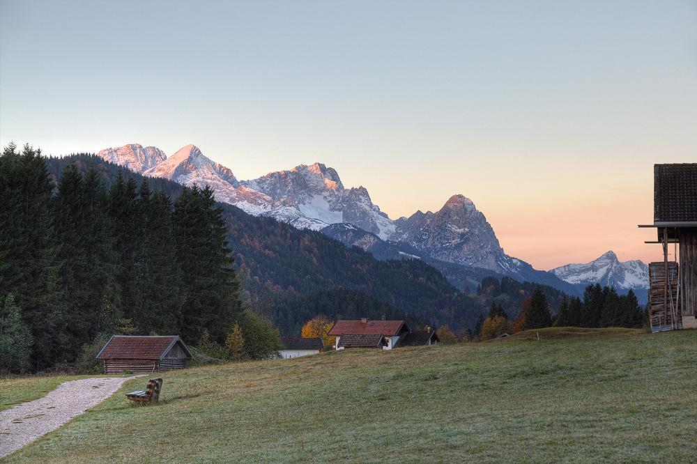 Wettersteingebirge am 19.10.