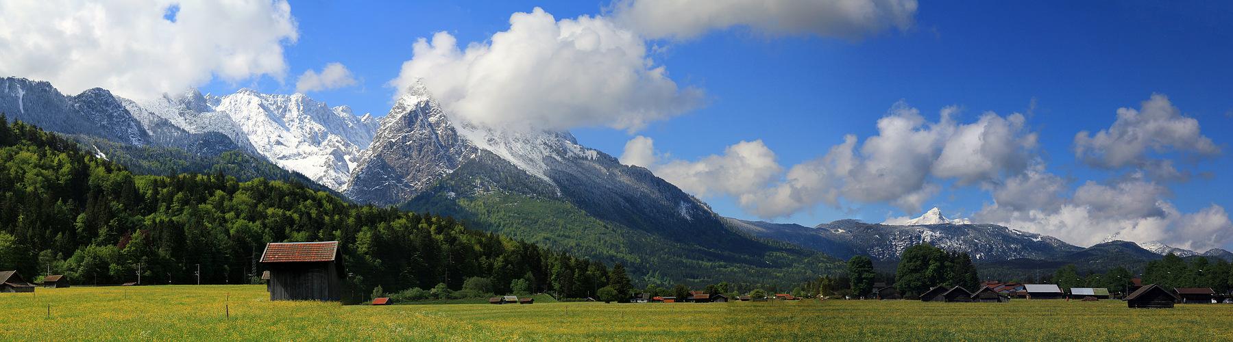 Wettersteingebirge-Garmisch