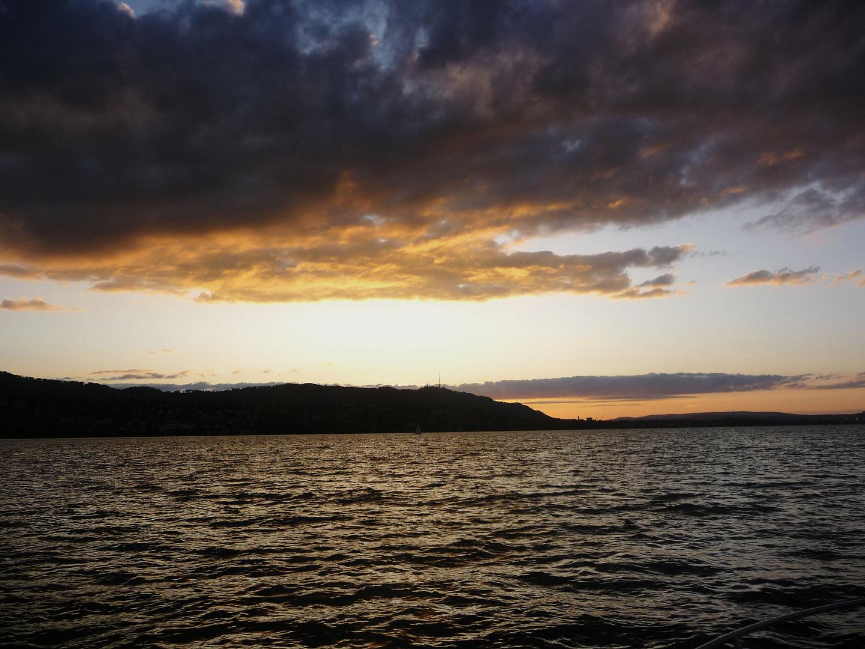 Wetterstimmung über dem Zürichsee