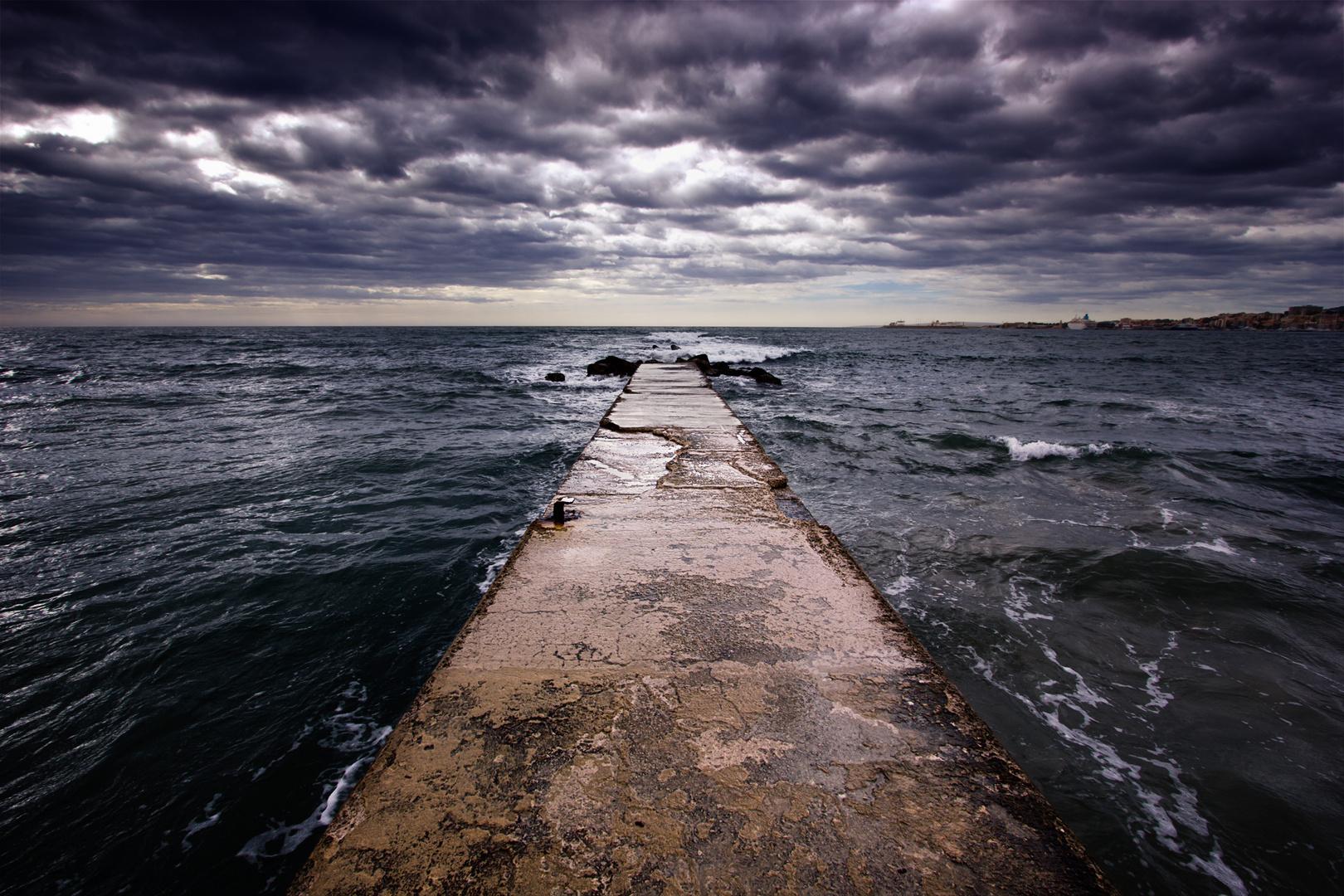 Wetterumschwung in Palma de Mallorca