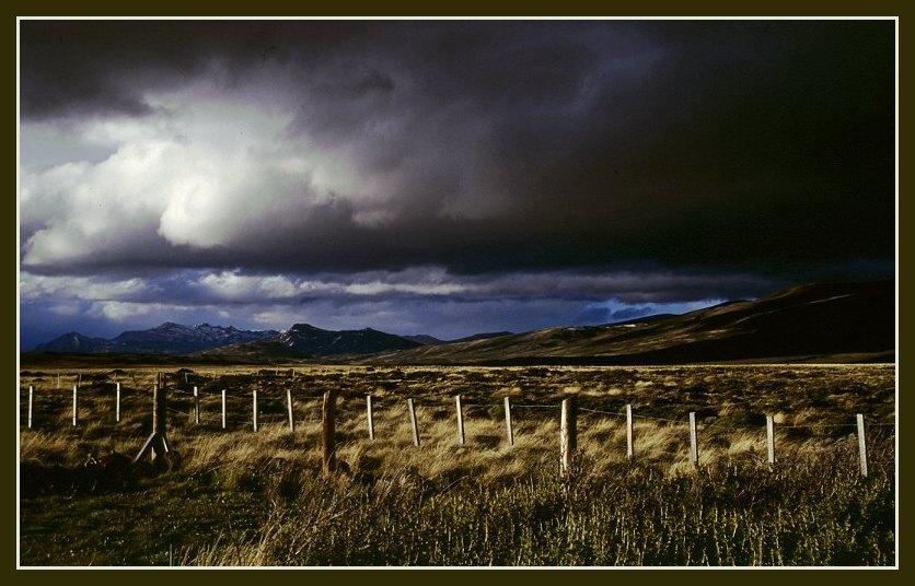 Wetterwechsel in Patagonien